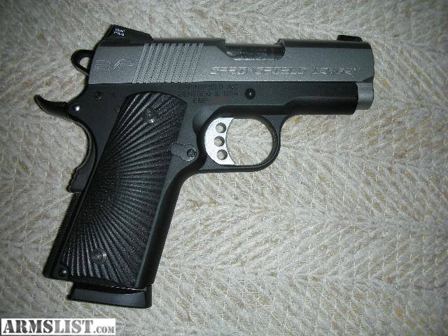 Armslist for sale springfield emp 9mm