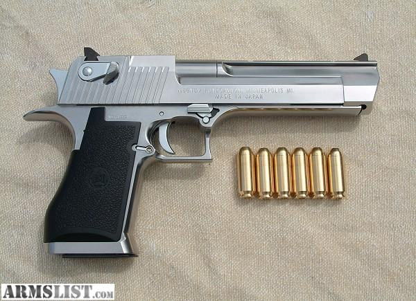 ARMSLIST - Want To Buy: WTB .50 cal Desert Eagle