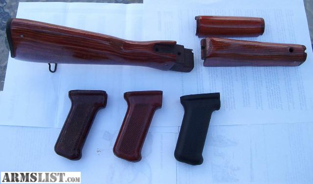 Armslist for sale ak47 4 piece red laminated wood stock set for Laminated wood for sale