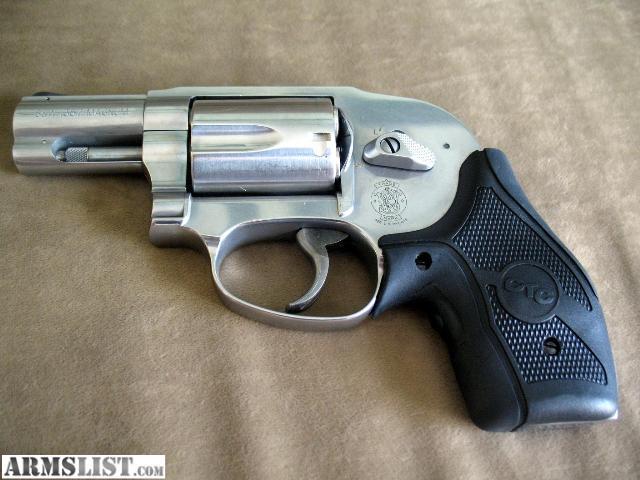 for sale sw 357 mag j frame model 649 w crimson trace lasergrips