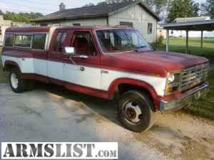 armslist for sale trade 1982 ford f250 dually more for trade or sale. Black Bedroom Furniture Sets. Home Design Ideas