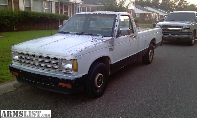 Chevy Trucks For Sale Near Me >> ARMSLIST - For Sale: 1989 chevy s10
