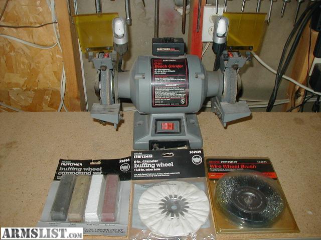 Armslist For Sale Craftsman 1 3 Hp 6 Bench Grinder