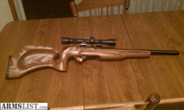 Ruger 1022 Target Lite Thumbhole Im Kaliber 22lr: For Trade: Custom Ruger 10/22 Target Rifle