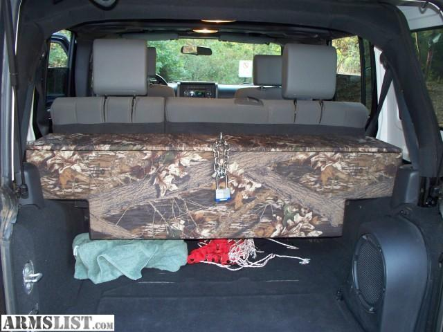 Armslist For Saletrade Mossy Oak Jeep Wrangler Jk Rifle Box