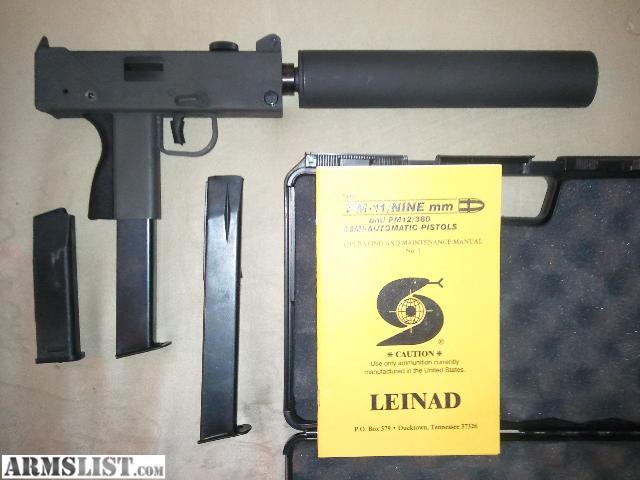 Cobray M12 Manual