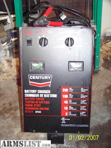 Century Battery Charger 87423 Related Keywords & Suggestions ... on