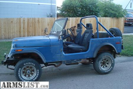 armslist for sale trade 1976 cj7 jeep wrangler with chev 350. Black Bedroom Furniture Sets. Home Design Ideas