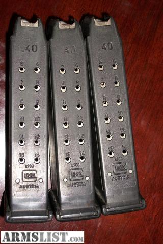 Cheap Glock 22 Mags - 15-Round Magazines for Sale