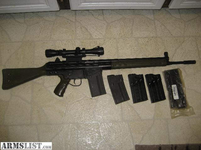 Cetme G3 For Sale: For Sale: Century Arms CETME G3