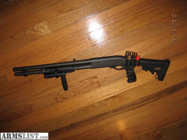 how to make a shotgun stock