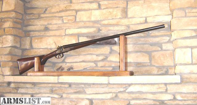 ARMSLIST - For Trade: 12 Gauge Double Barrel Hammer Shotgun