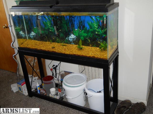 Armslist for sale trade 55 gallon aquarium set for 55 gallon fish tank lid