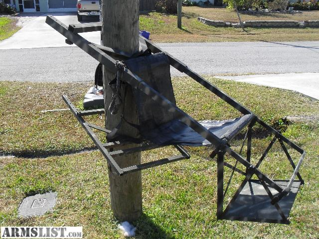 Armslist For Sale Tree Lounge Climbing Treestand