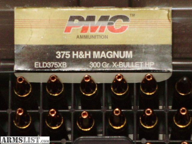 For Sale: .375 H&H Magnum Ammo And Brass