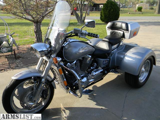 armslist for sale trike honda 1800 vtx. Black Bedroom Furniture Sets. Home Design Ideas
