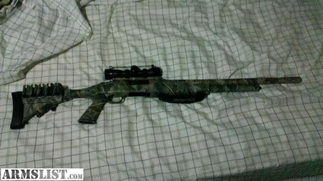 ARMSLIST - For Sale: mossberg 500a camo tactical