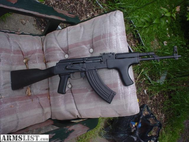 wasr romanian ak 47  good condition  functions great  wood furniture but  painted black 450 00. ARMSLIST   For Sale  wasr ak 47