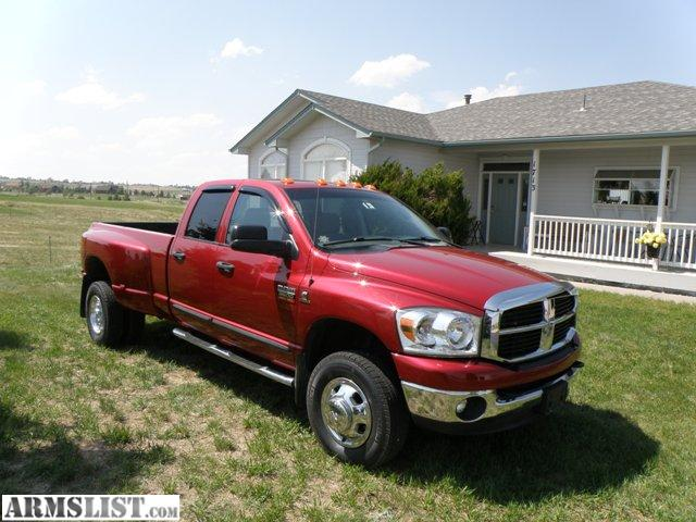 armslist for sale 2007 dodge ram 3500 dually 4x4 diesel 6 7 liter. Black Bedroom Furniture Sets. Home Design Ideas