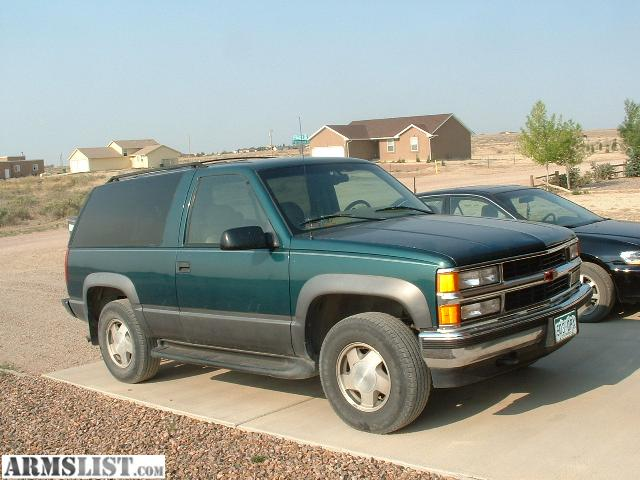 armslist for sale trade 96 chevy tahoe 2 door 4x4. Black Bedroom Furniture Sets. Home Design Ideas