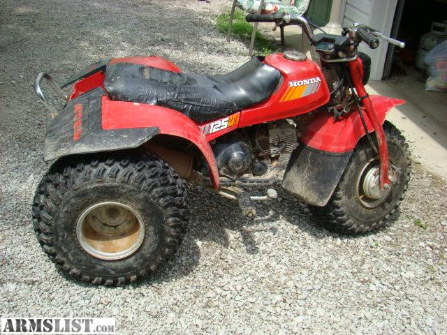 armslist for sale trade 1983 honda 125m 3 wheeler atv. Black Bedroom Furniture Sets. Home Design Ideas