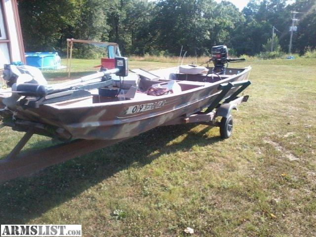 Armslist for sale trade flat bottom boat with 20hp for Dinghy motor for sale