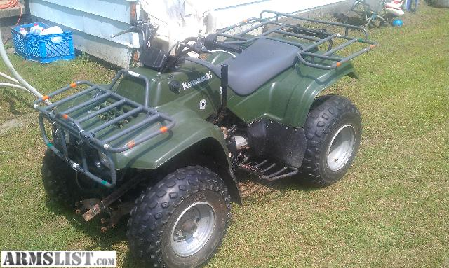 armslist for sale trade 2000 kawasaki bayou atv for trade. Black Bedroom Furniture Sets. Home Design Ideas