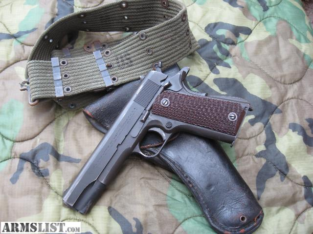 Armslist For Sale Colt 1911a1 1943 Great Cond Wwii