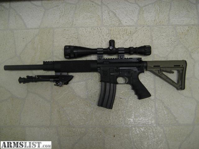 PLINKER FTCB Olympic Arms AR-15 Plinker - 223 Rem/5.56m...