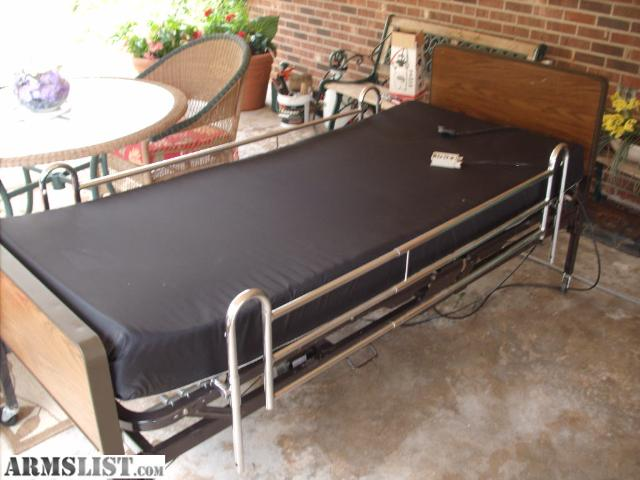 electric hospital beds with side rails 2