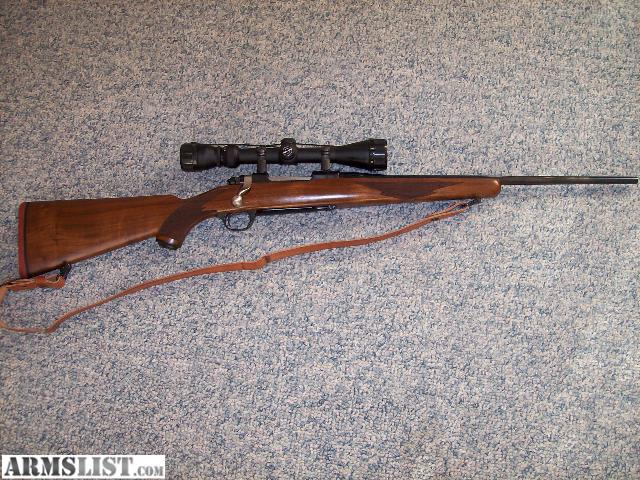 simmons 3x9x50. this is a vey nice ruger compact m77 .223 with new simmons 3x9x50 varible scope, great coyote rifle ready to go ! why not buy gun you can enjoy shooting t