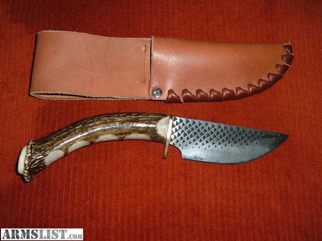 Armslist For Sale Deer Antler Handled Bastard File Knife