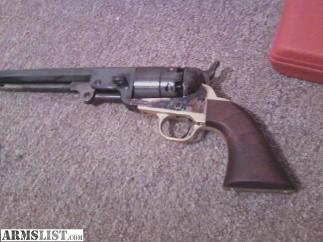 ARMSLIST - For Sale: F.LLI Pietta 1851 Navy B/P revolver ...
