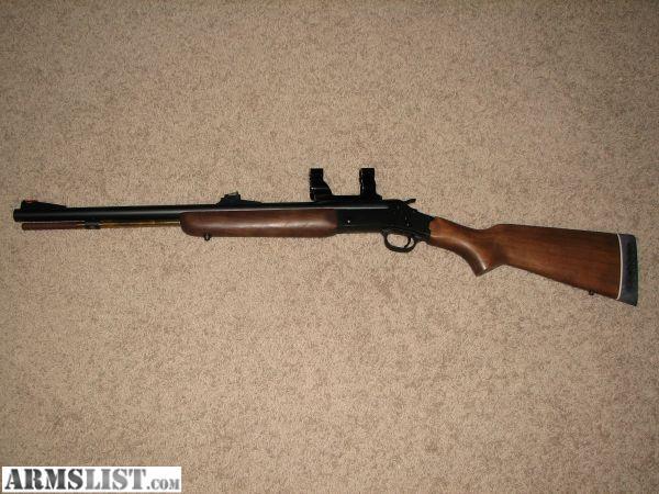 rossi cal muzzleloader inline open scope powder fired never hunting deer mounts sight gun bar breech plug armslist sights