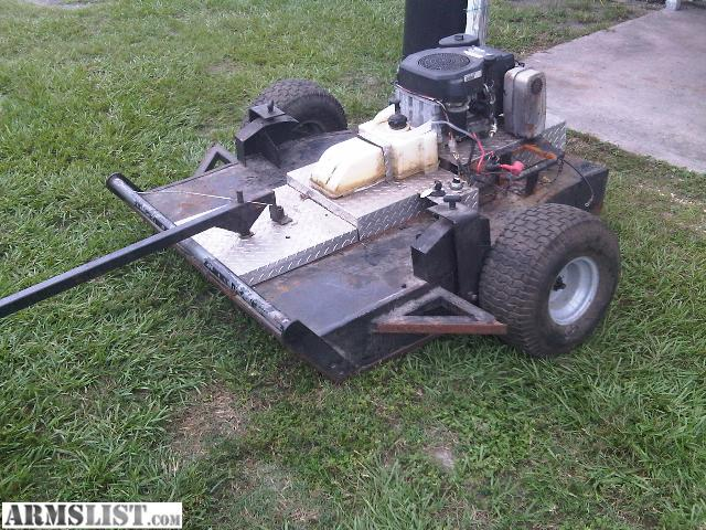 ARMSLIST - For Sale: Bush Hog ATV pull behind