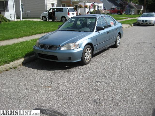 Armslist for sale 99 honda civic lx 4 door daily for Honda civic 99 for sale