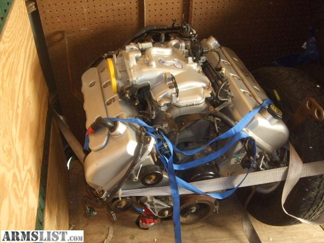 ARMSLIST  For Sale 1999 FORD MUSTANG COBRA MOTOR 46 BRAND NEW