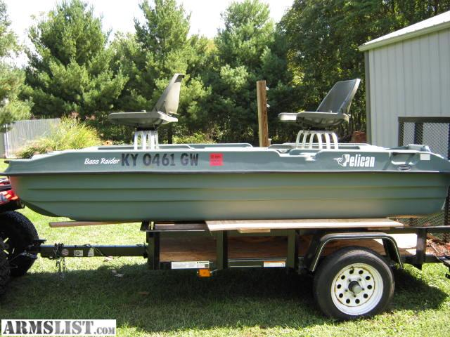 Armslist for sale trade pelican 10 39 fishing boat for Pelican bass raider 10e fishing boat