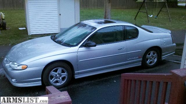armslist for sale 2003 chevy monte carlo ss. Black Bedroom Furniture Sets. Home Design Ideas