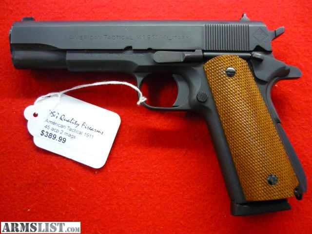 For Sale: American Tactical M 1911 Military,45