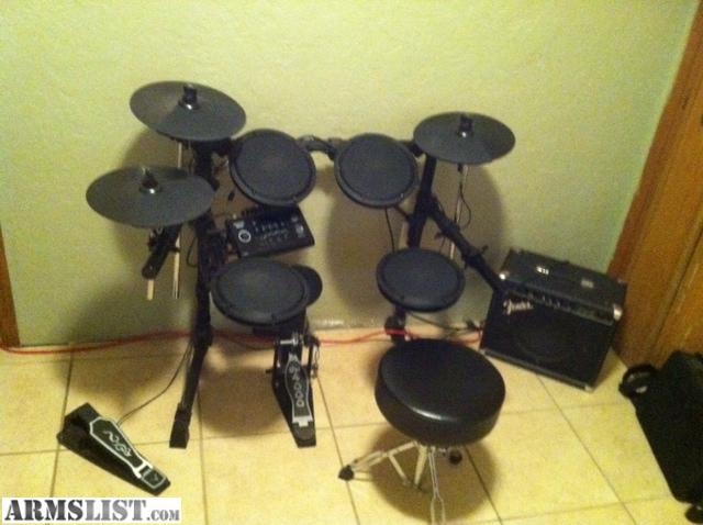armslist for trade like new electronic drum set. Black Bedroom Furniture Sets. Home Design Ideas