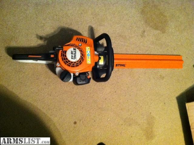armslist for sale trade stihl hs 45 hedge trimmer. Black Bedroom Furniture Sets. Home Design Ideas