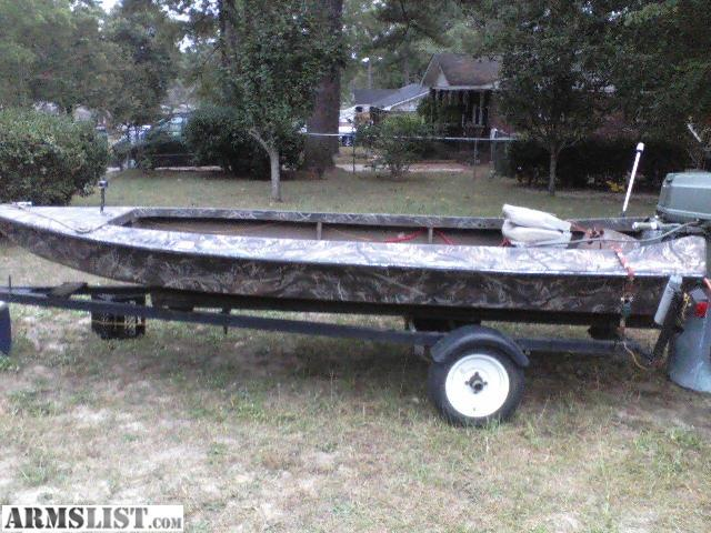 Armslist for sale trade 1991 falcon duck boat for Boat motors for sale in arkansas