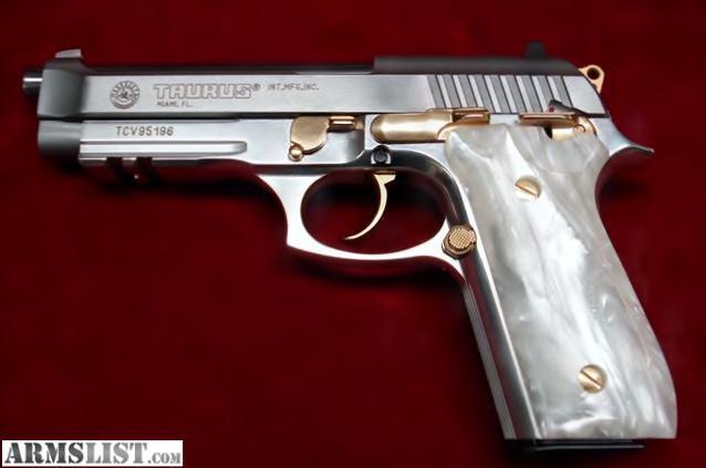 Pistola Taurus PT 92 Cal. 9Mm - Inox - YouTube