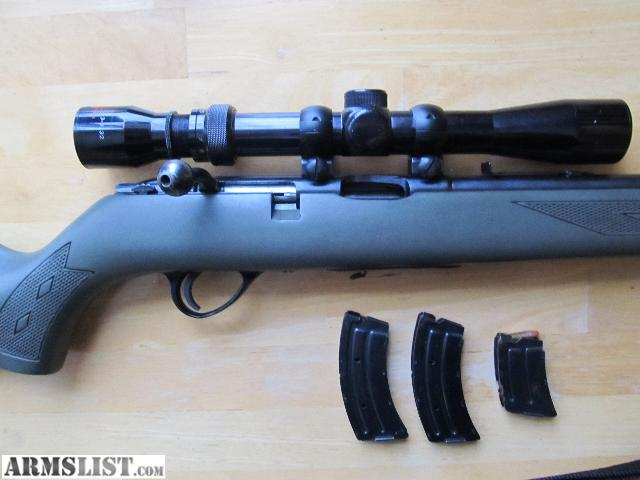 Armslist for sale 22lr bolt action savagestevens model 34 this is a savage model 34 in 22lr bolt action magazine fed solid rifle scoped with a tasco 3 932 in great condition round count approx 300 thecheapjerseys Image collections