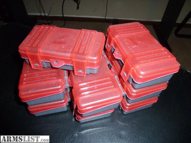 For Sale AMMO STORAGE boxes 9mm/380 & ARMSLIST - For Sale: AMMO STORAGE boxes 9mm/380