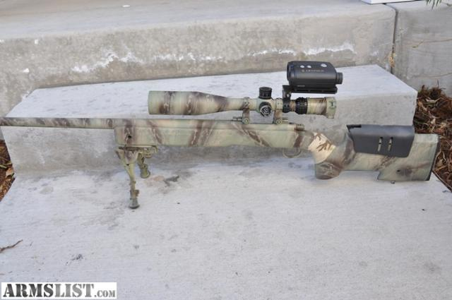ARMSLIST - For Sale: Custom remington 700 special forces ...