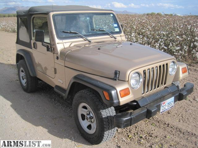 armslist for sale 1999 jeep wrangler. Black Bedroom Furniture Sets. Home Design Ideas