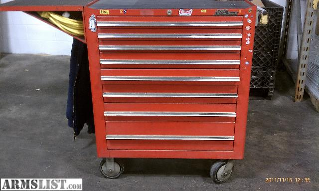 mac tool box. i have a older mac tool box for sale. it measures 33 1/2\