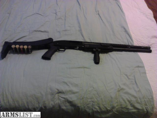 ARMSLIST - For Sale/Trade: mossberg 500a 8 shot tactical pump